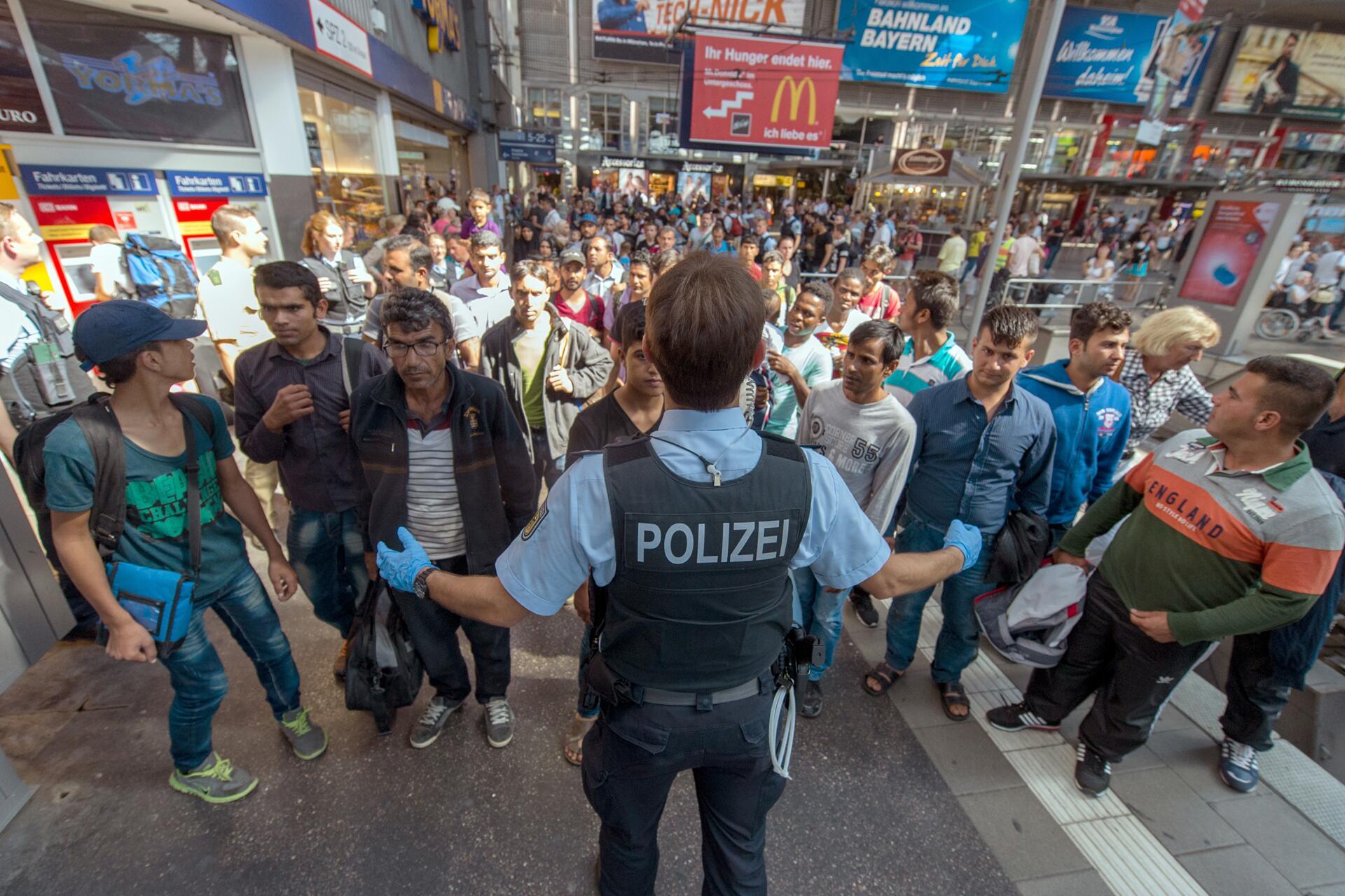 Bild zu Flüchtlinge in Rosenheim