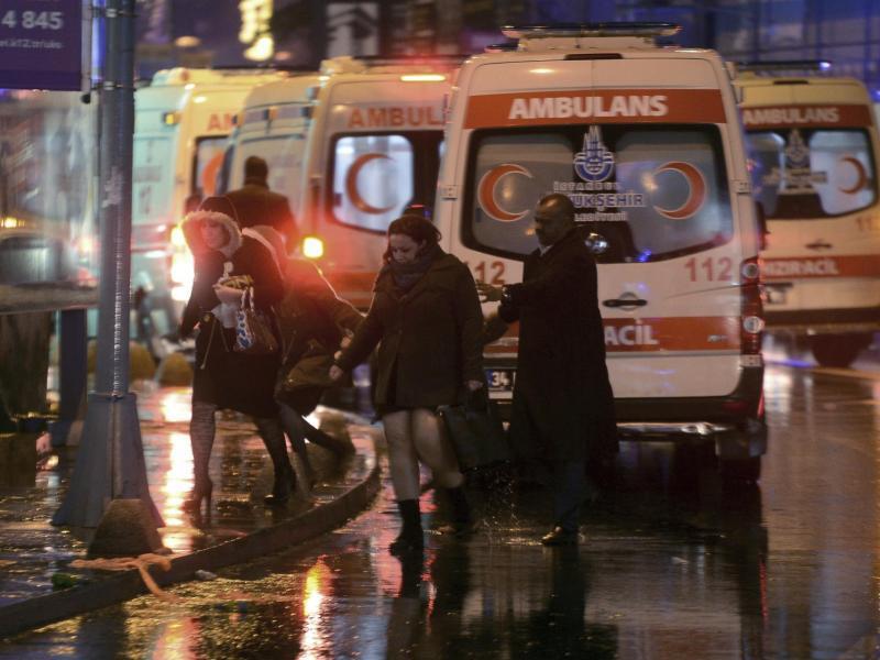Bild zu Angriff auf Istanbuler Nachtclub