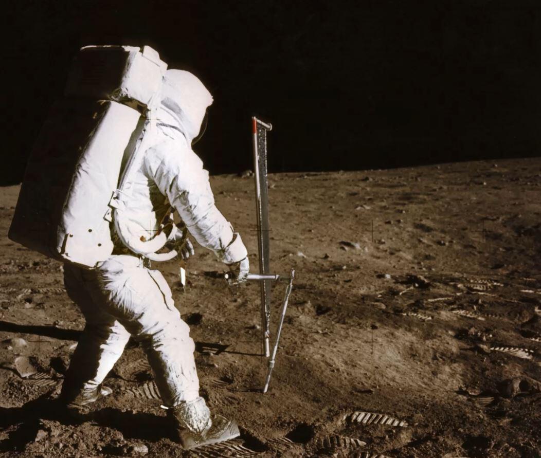 Bild zu Mondlandung, Verschwörungstheorien
