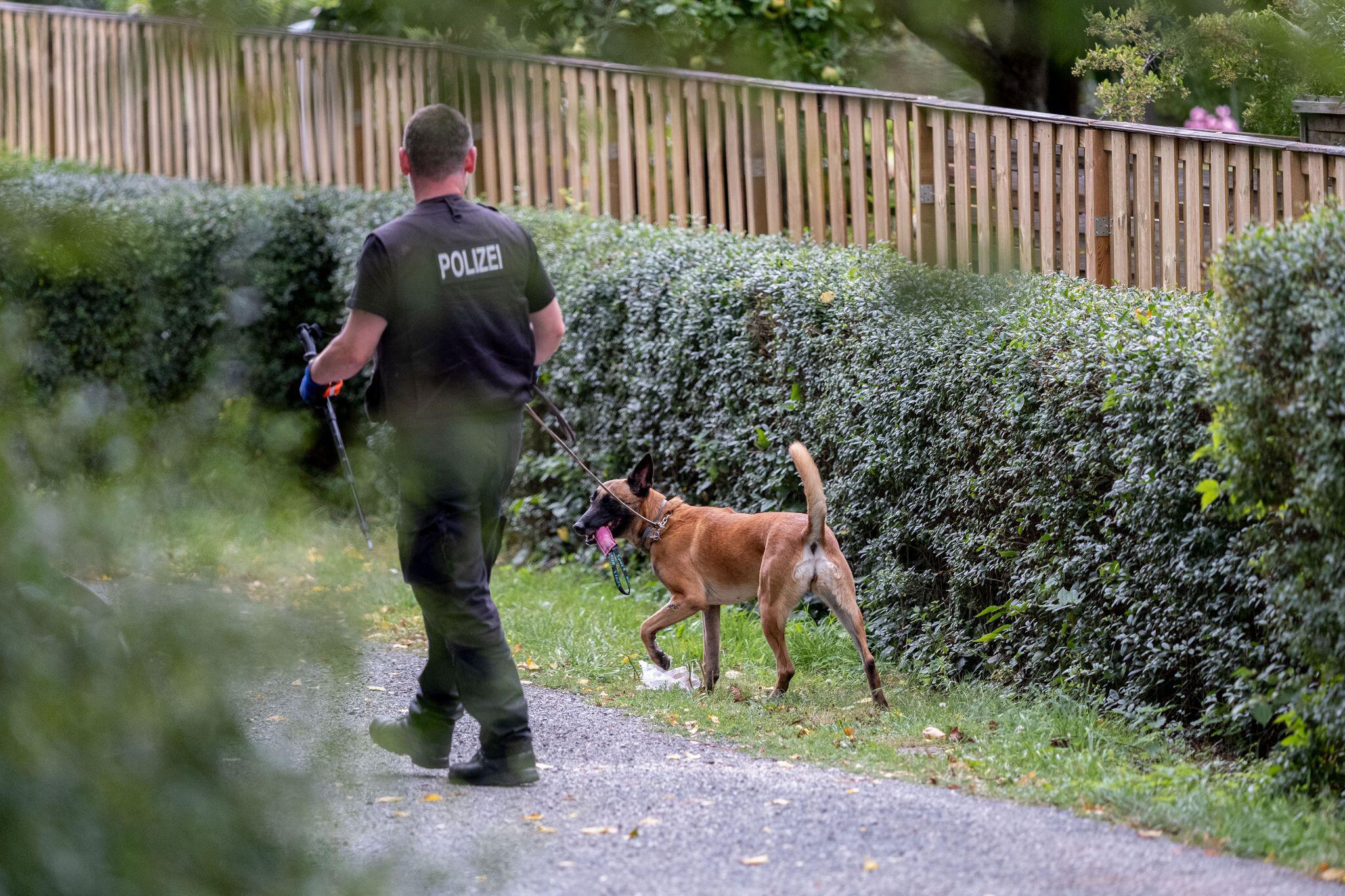 Bild zu Polizei durchsucht Kleingarten