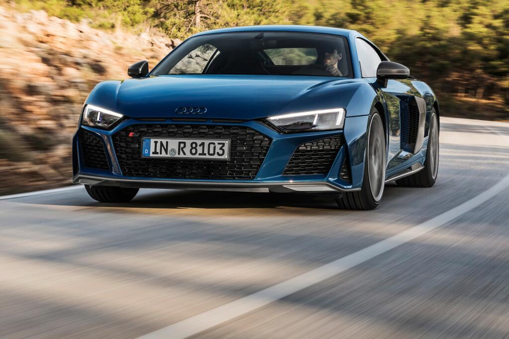 Audi R8 Facelift: Coupé und Spyder mit markanterer Front und neuer Technik