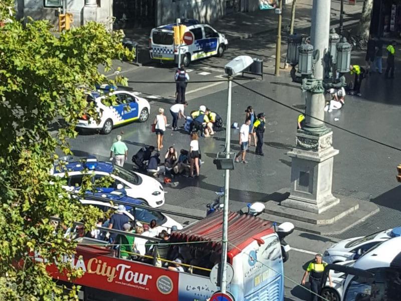 Bild zu Terror in Barcelona