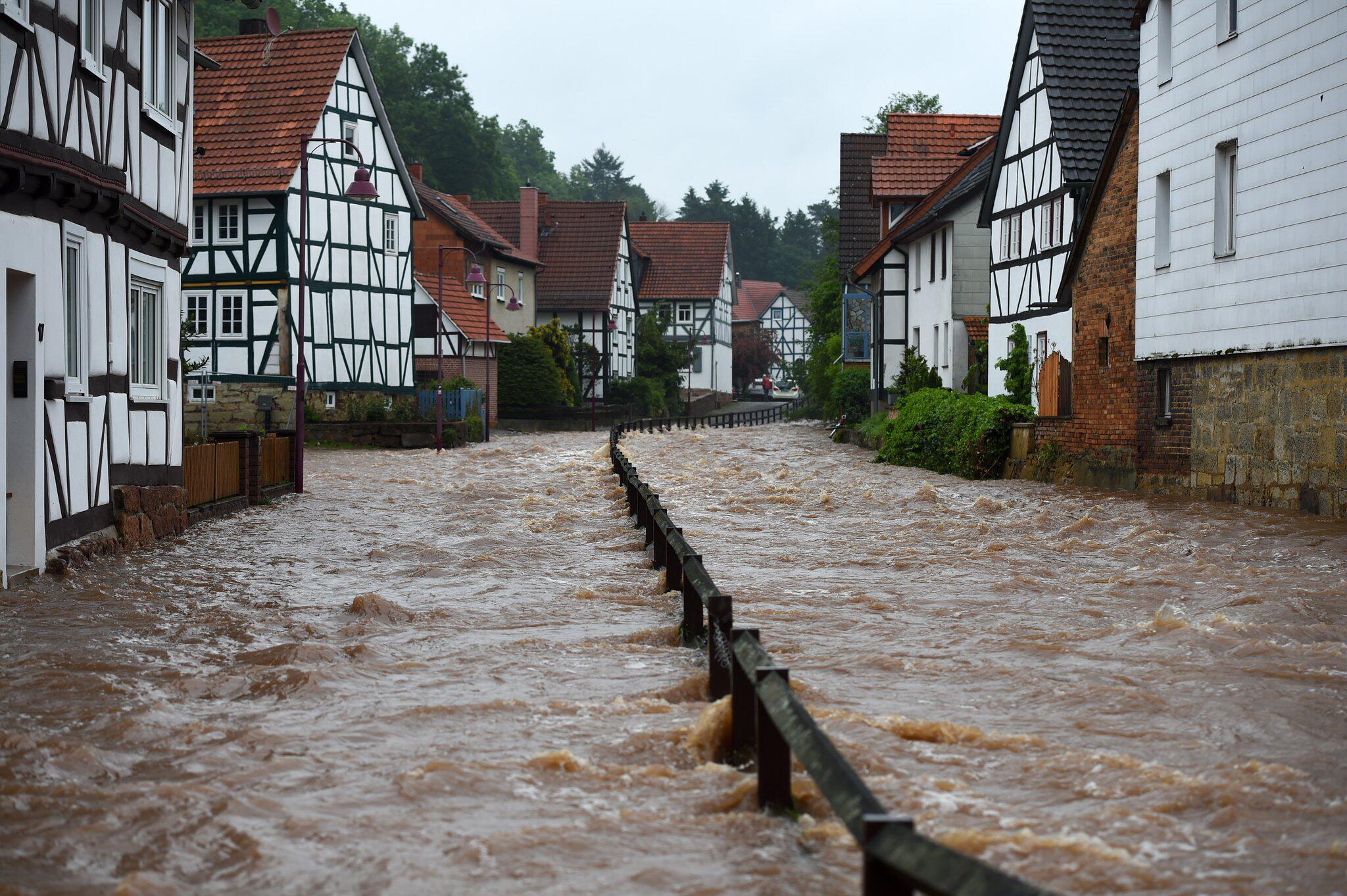Bild zu Hochwasser Nordhessen