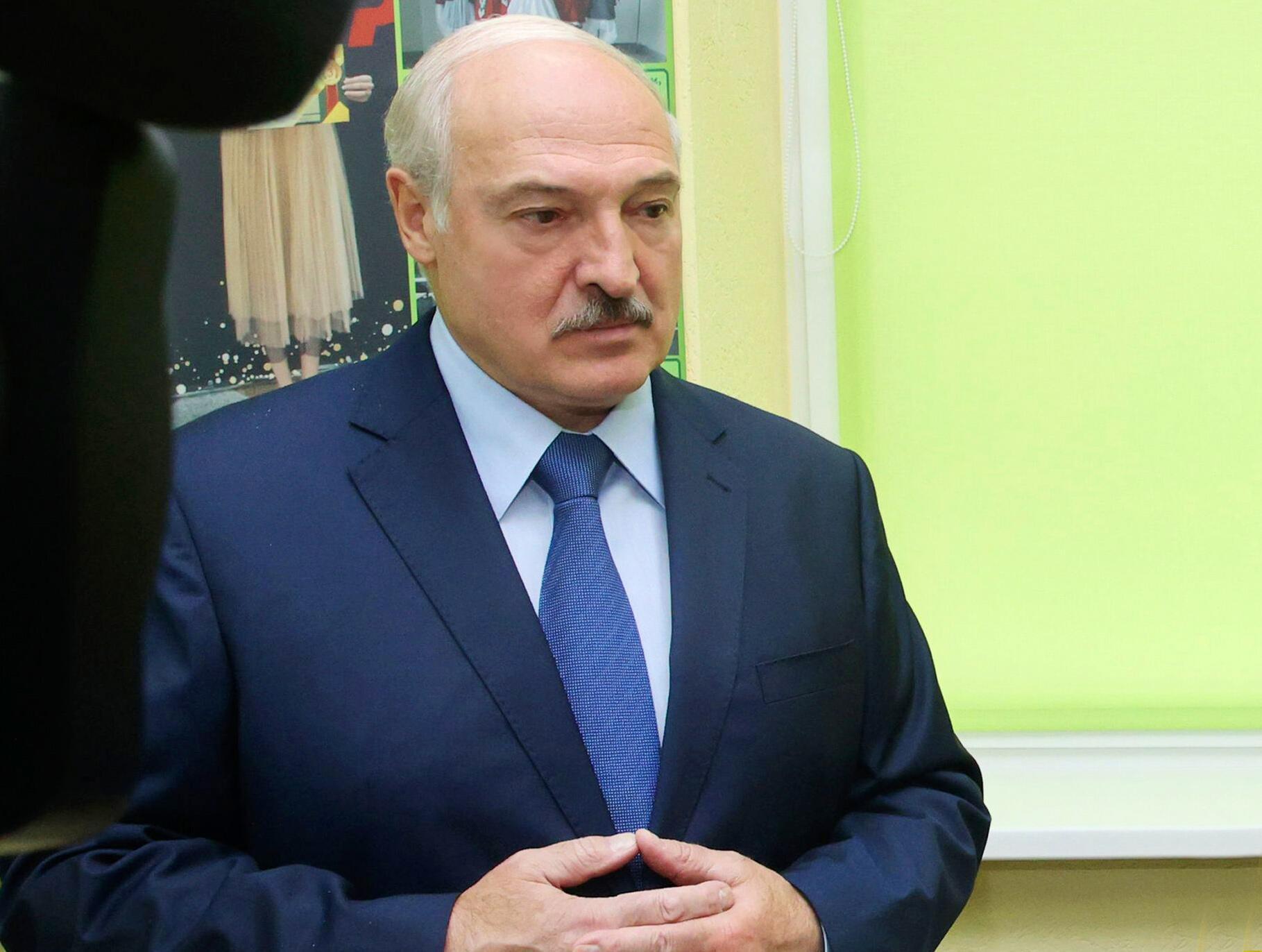 Bild zu Proteste in Belarus - Lukaschenko