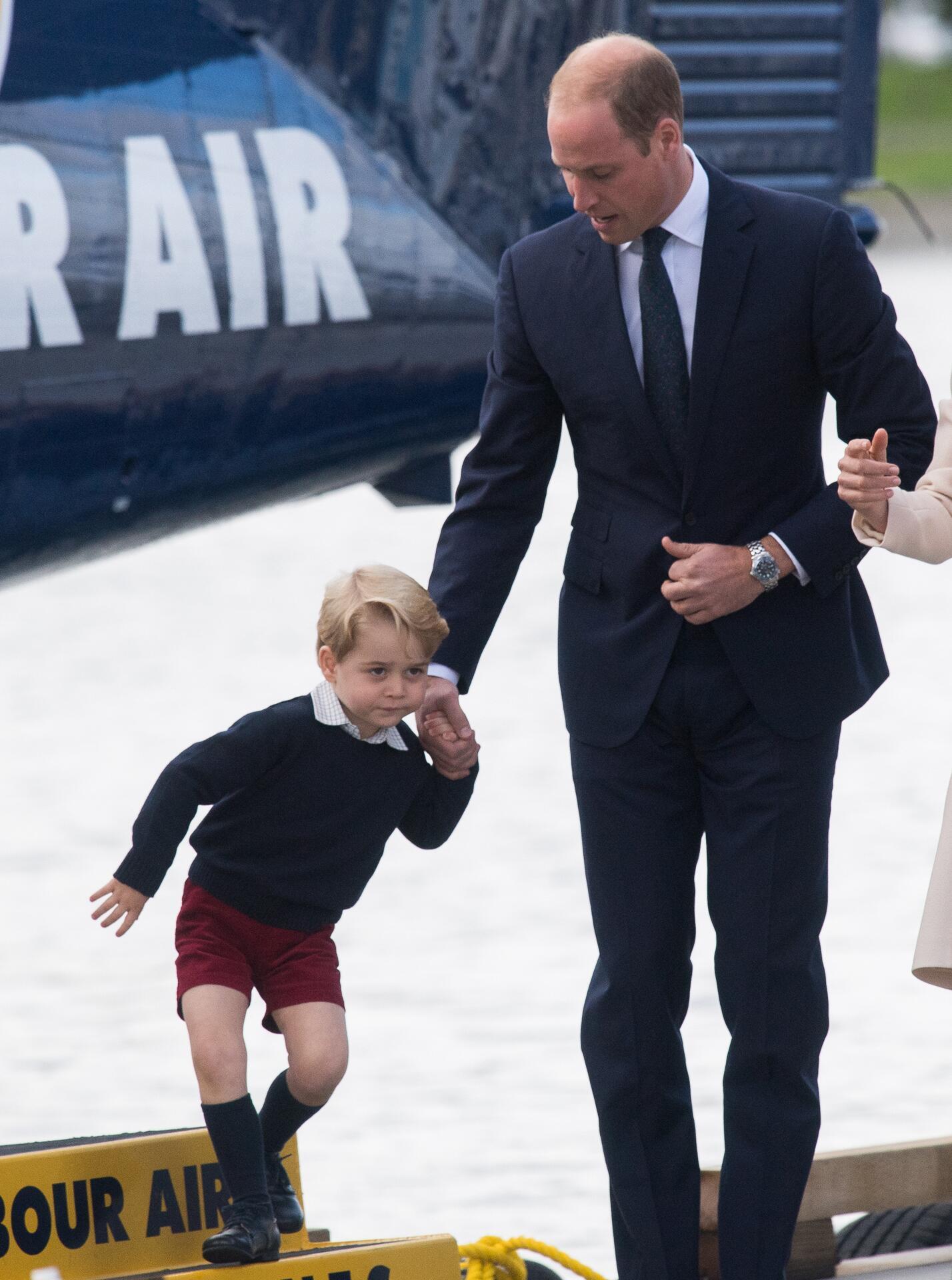 Bild zu Prinz George, Prinz William