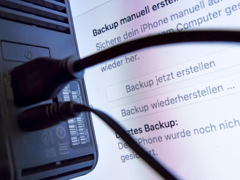 Bild zu Backup eines Rechners