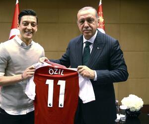Mesut Özil, Recep Tayyip Erdogan