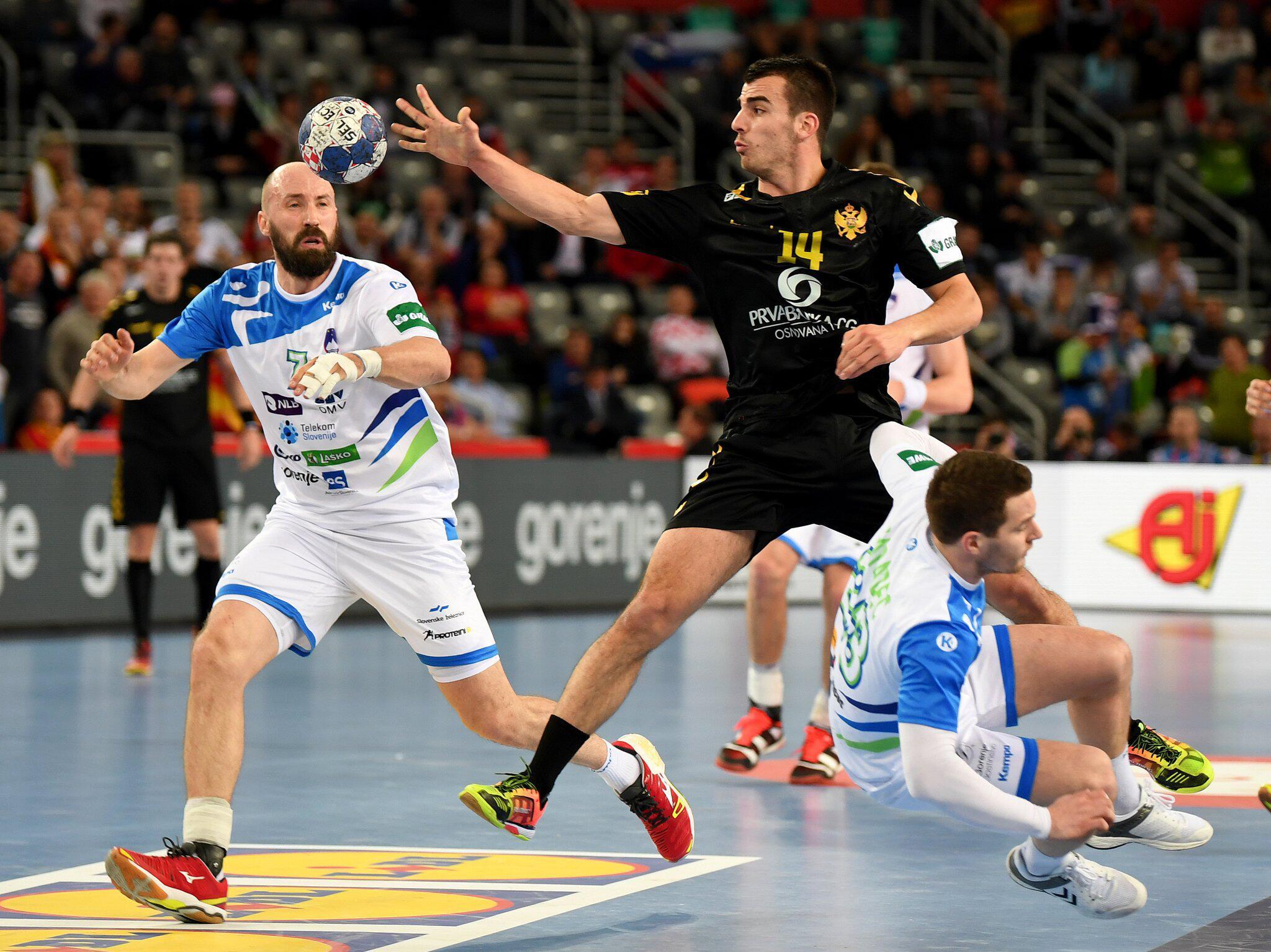 Bild zu Handball-EM: Montenegro - Slowenien