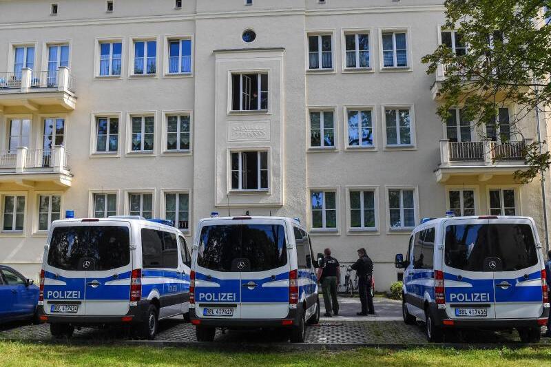 Polizeiaktion in Eisenhüttenstadt