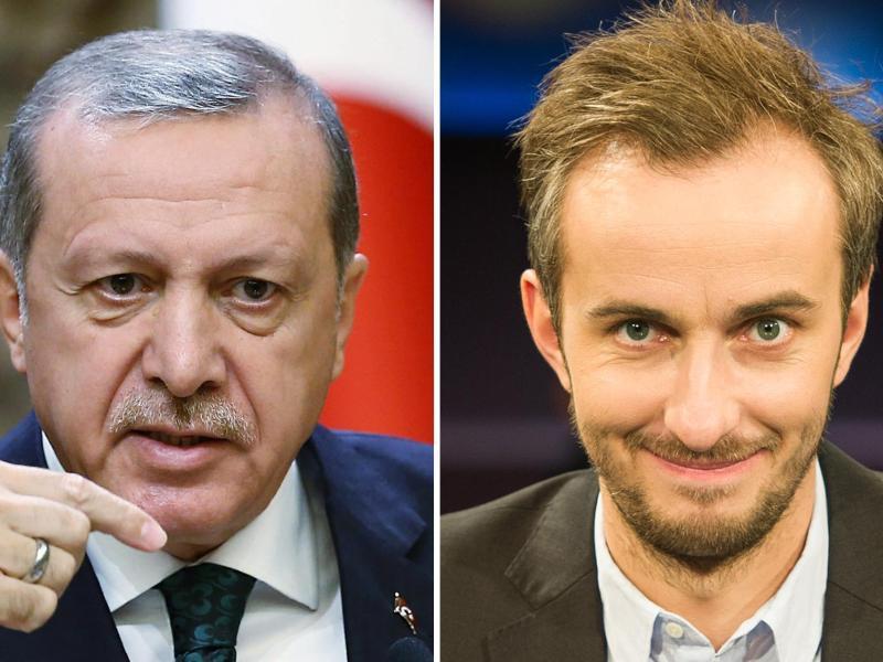 Bild zu Recep Tayyip Erdogan und Jan Böhmermann