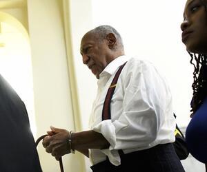 Bill Cosby, Haft, Handschellen