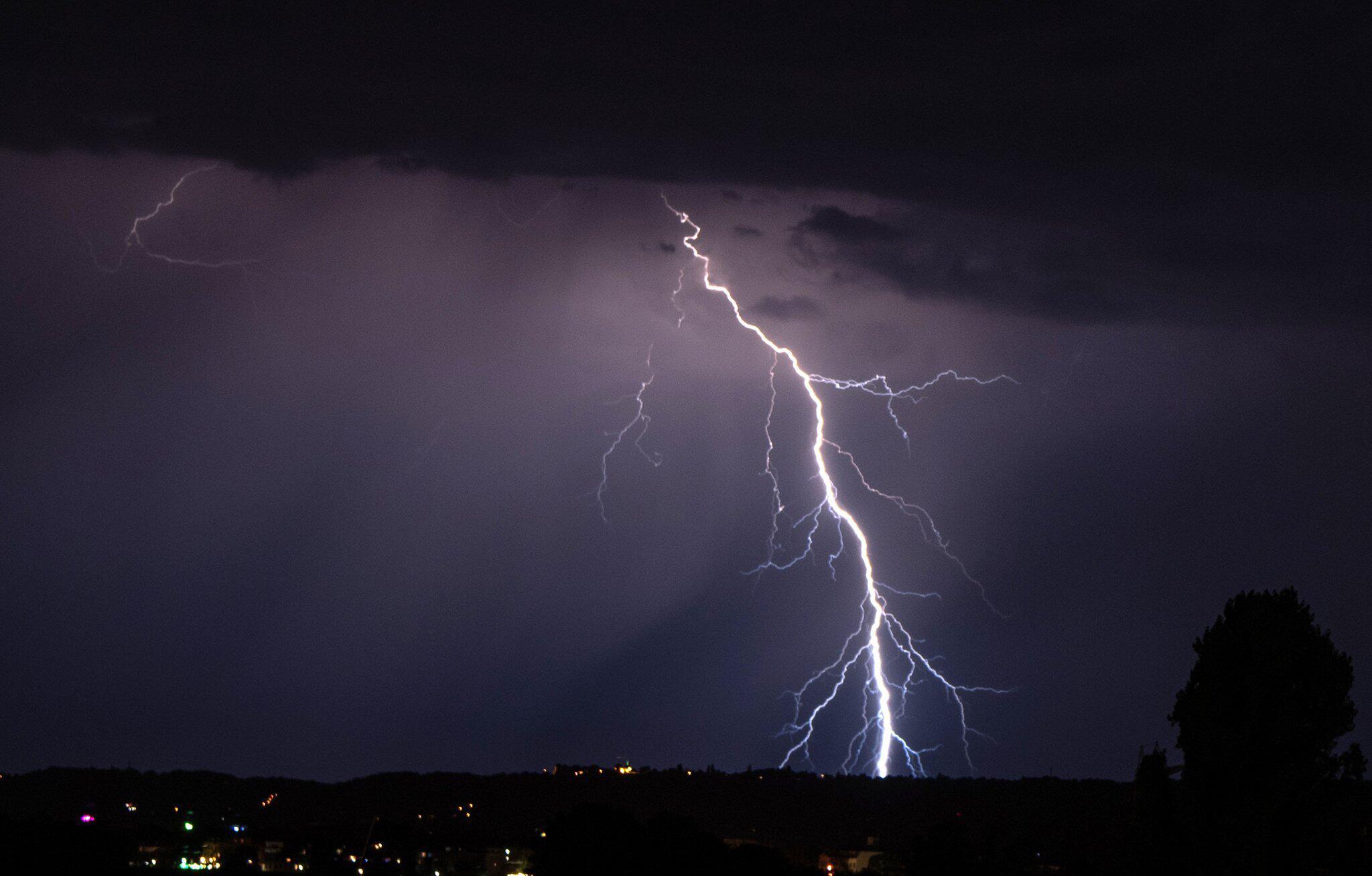 Bild zu Gewitter in Sachsen