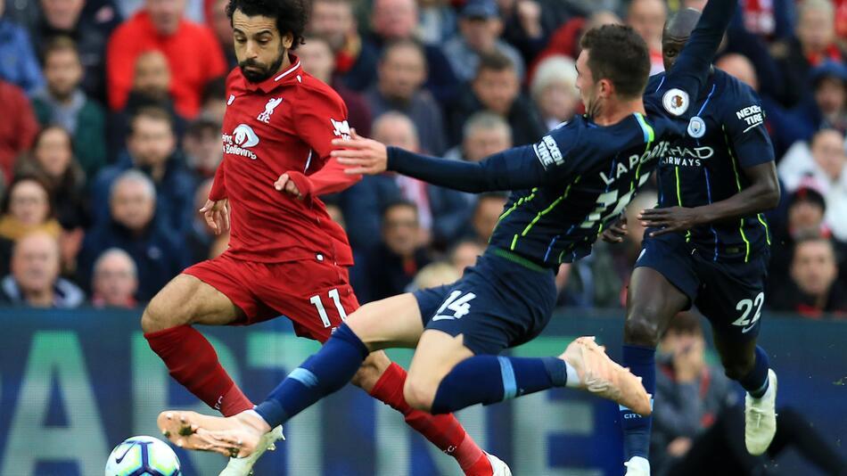 Liverpool, ManCity, Guardiola, Klopp, Salah
