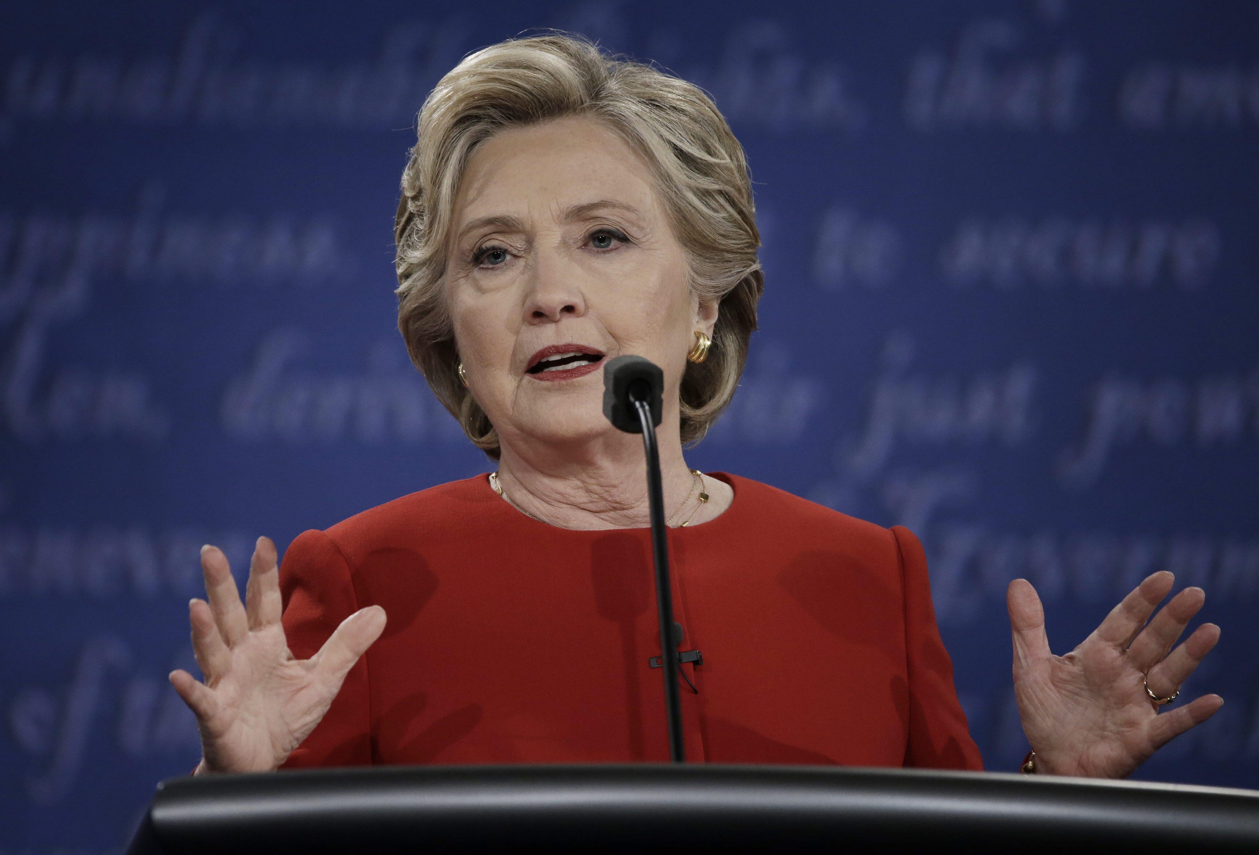 Bild zu Hillary Clinton, TV-Duell