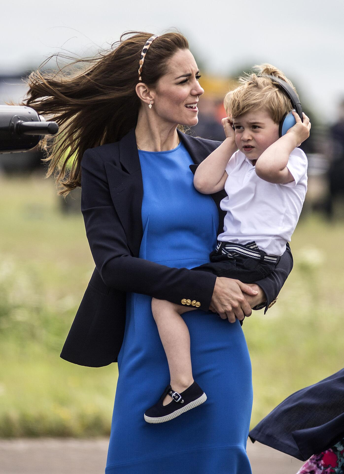 Bild zu Herzogin Kate, Prinz George