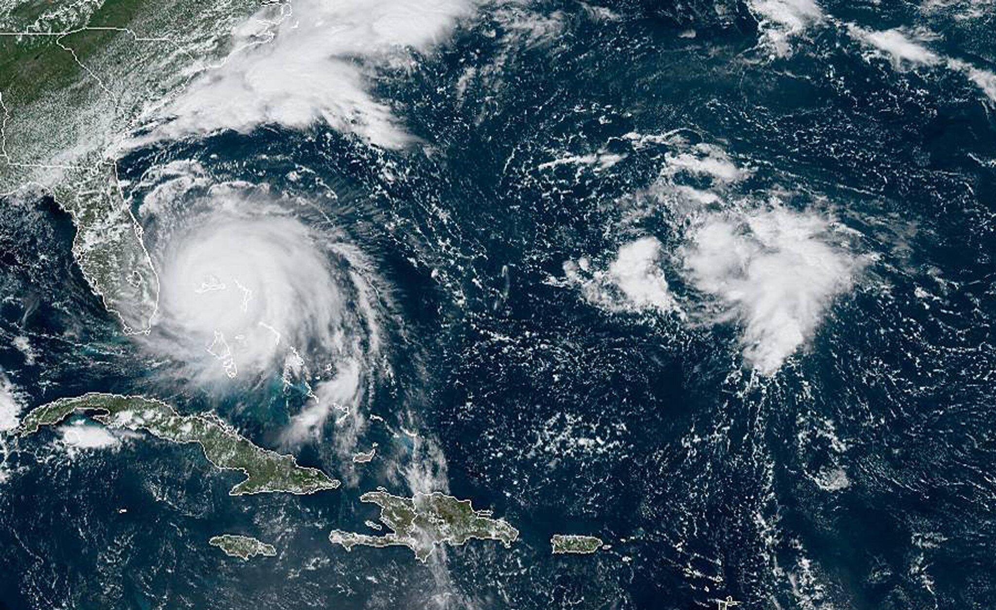 Bild zu Hurrikan, Dorian, Bahamas, Satellitenbild, National Oceanic and Atmospheric Administration