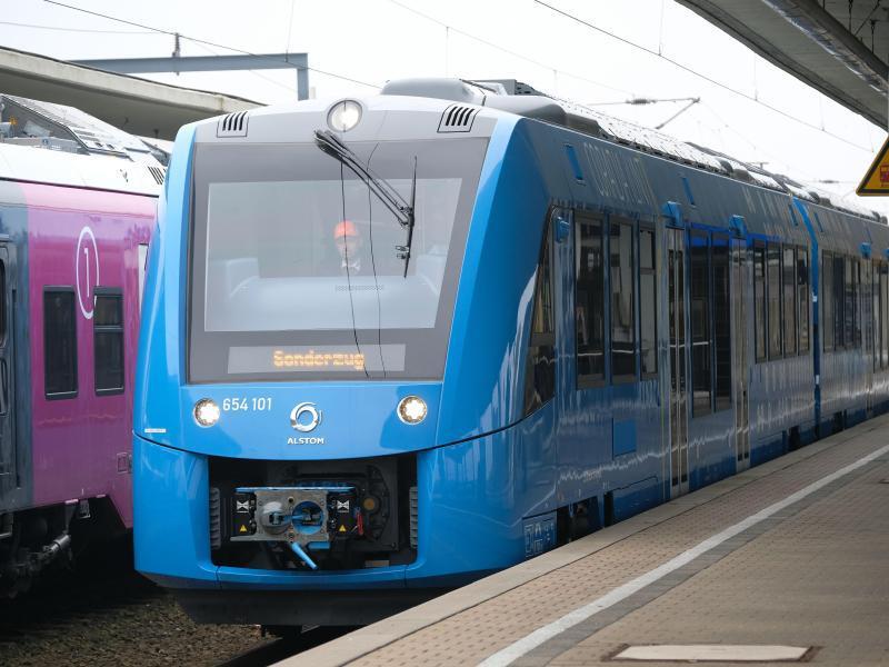 Bild zu Brennstoffzellenzug in Niedersachsen