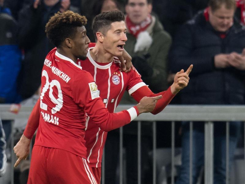 Bild zu Bayern München - Werder Bremen