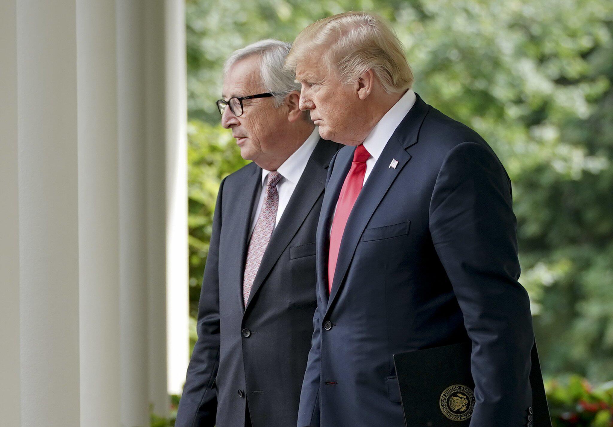 Bild zu Juncker trifft Trump in Washington