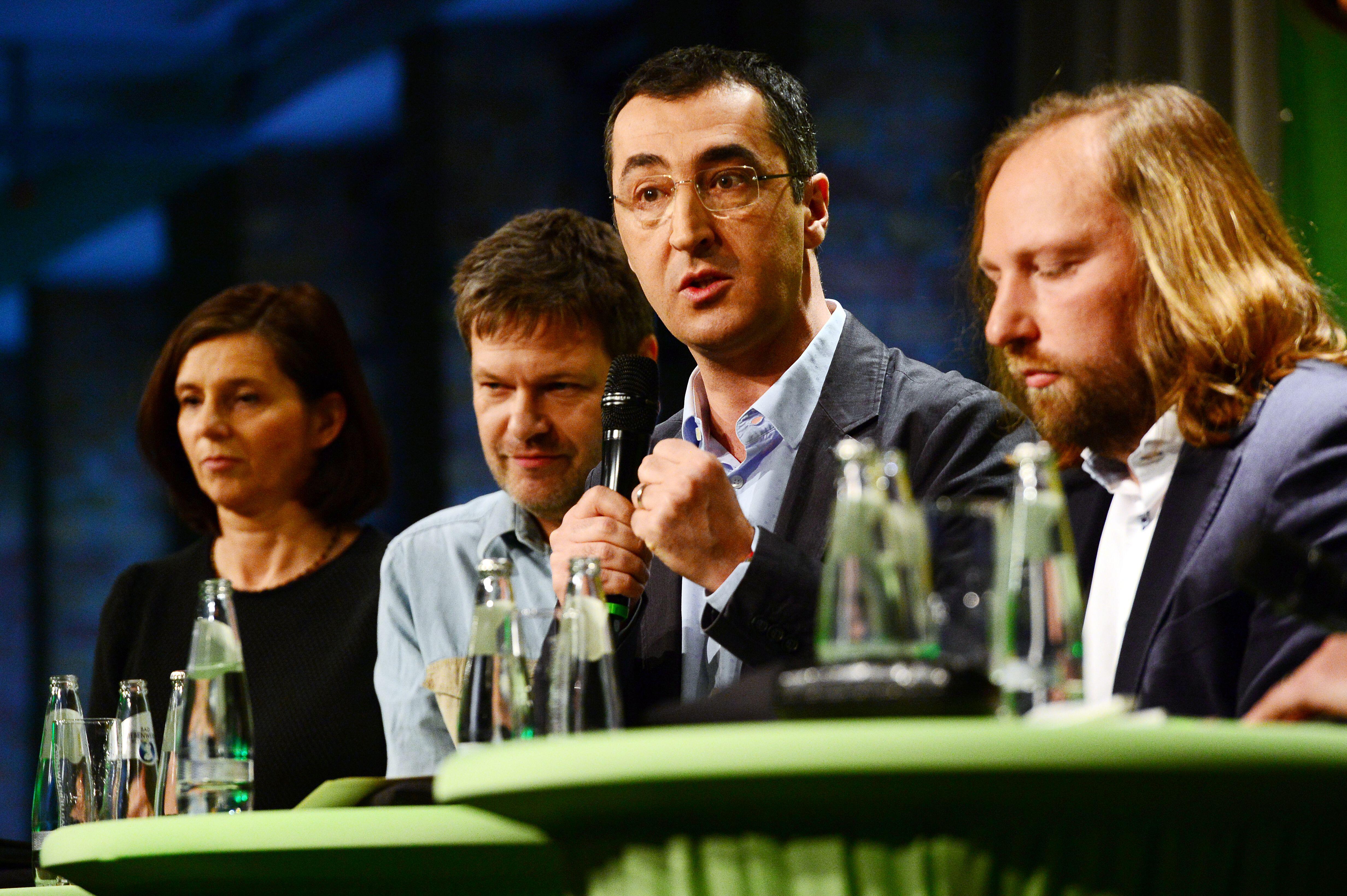 Bild zu Grünen, Cem Özdemir, Anton Hofreiter