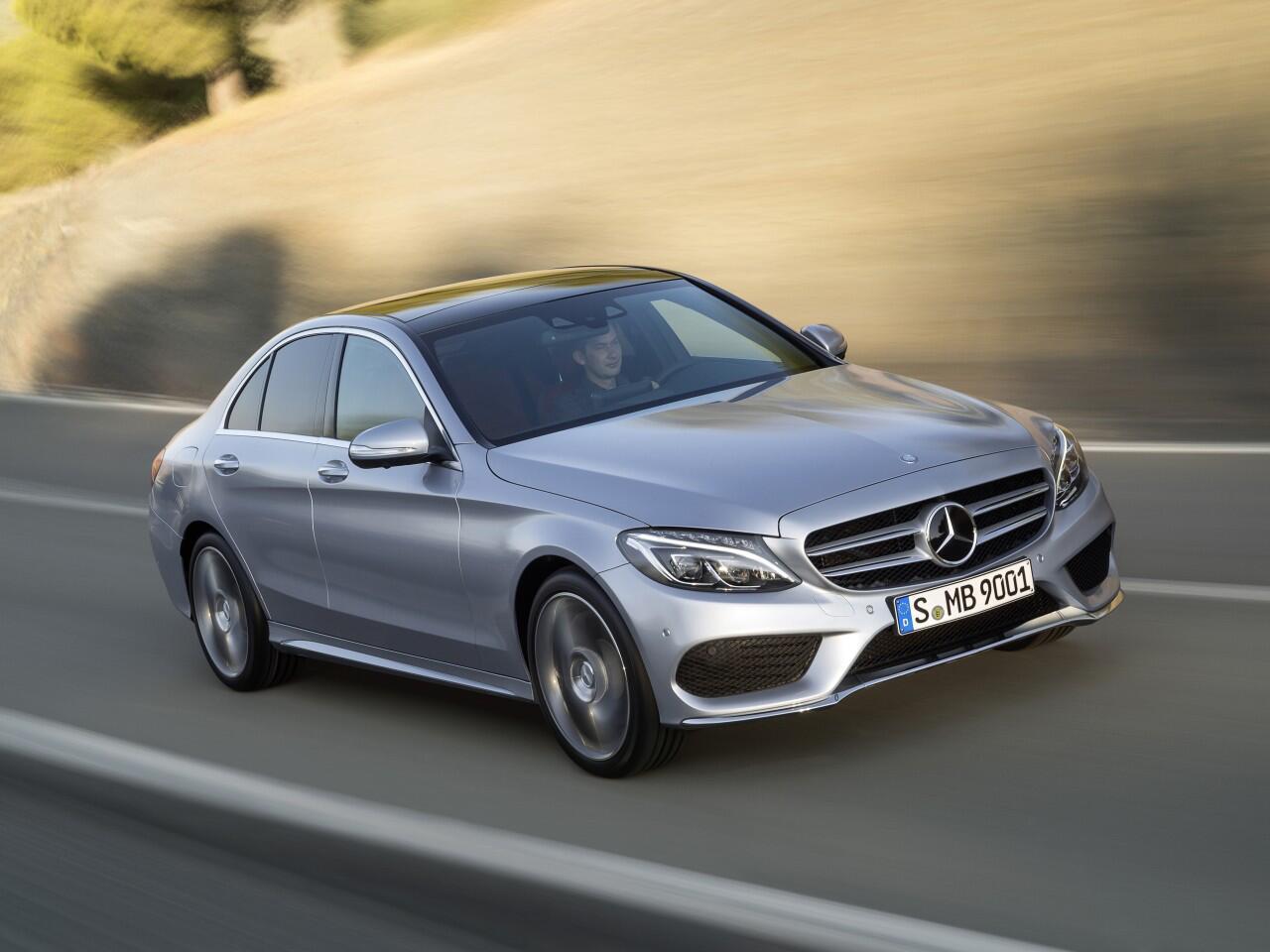 Bild zu Platz 3: Mercedes C-Klasse