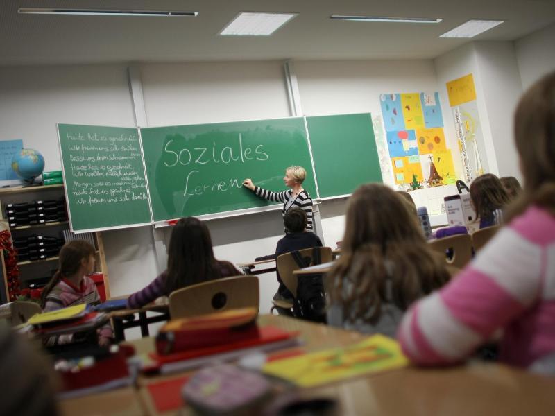 Bild zu Unterricht in der Schule