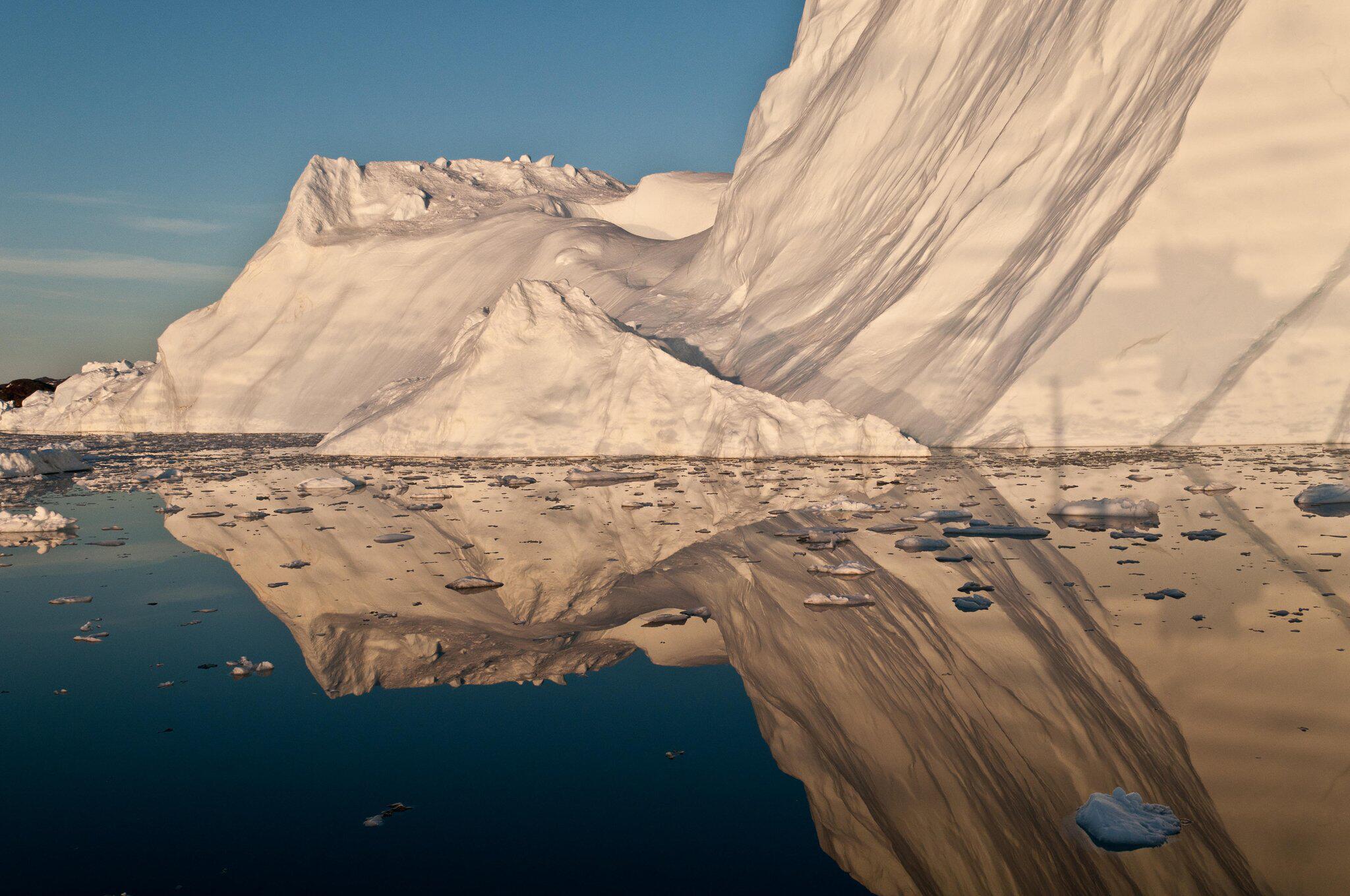 Bild zu Grönland-Eisschmelze hob Meeresspiegel um fast elf Millimeter an