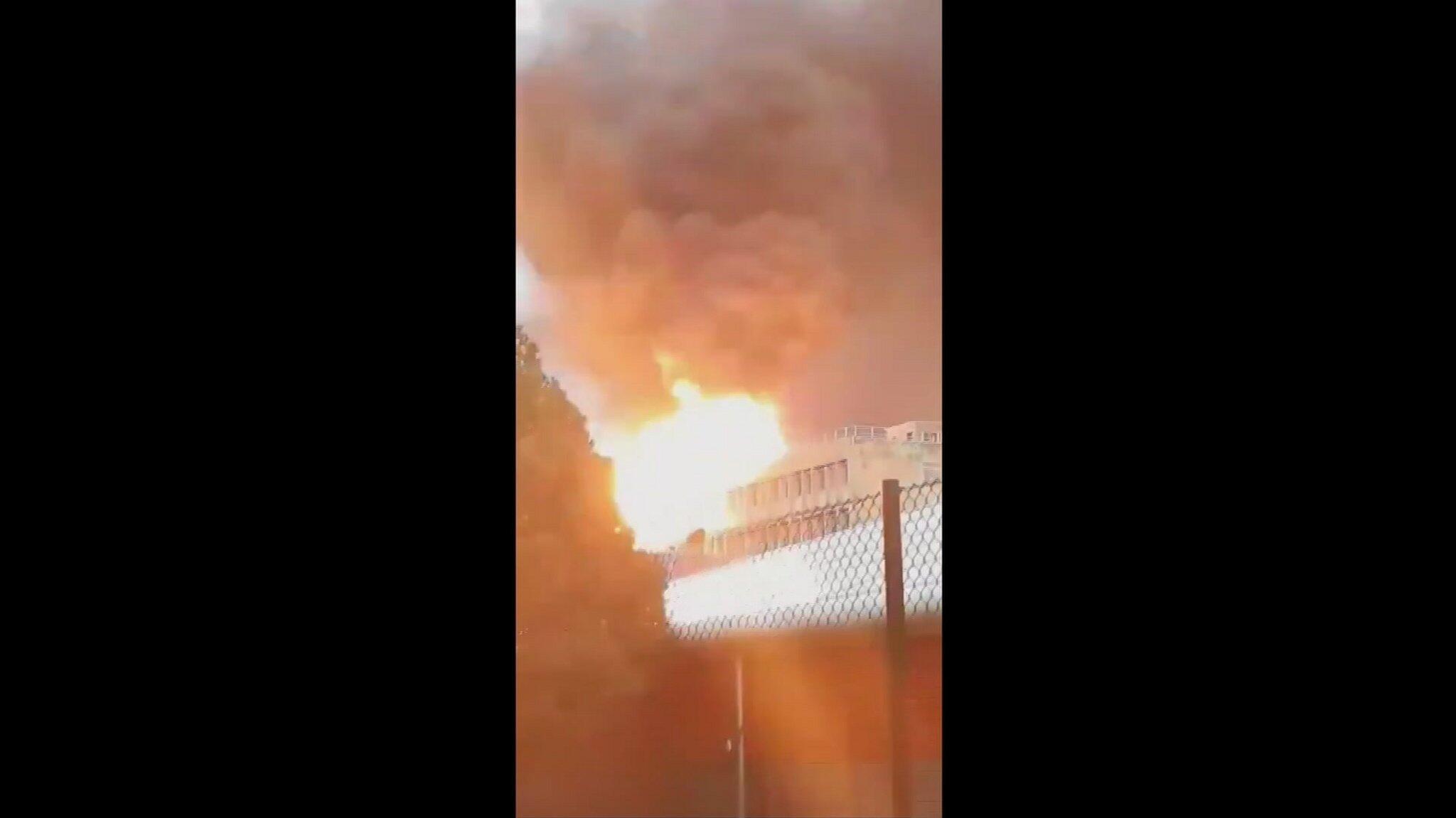Bild zu Explosion auf Campus bei Lyon