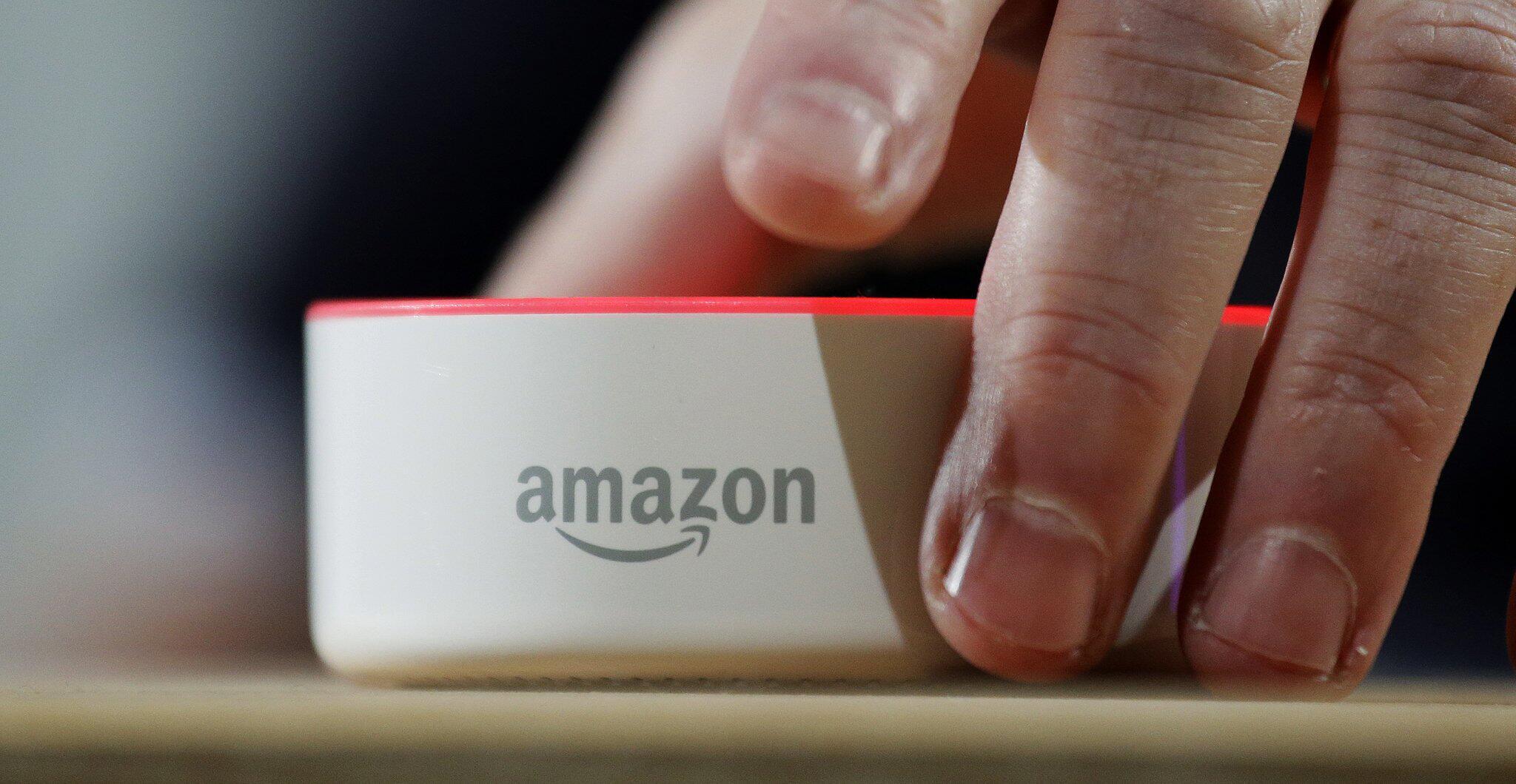 Bild zu Amazons Echo-Lautsprecher