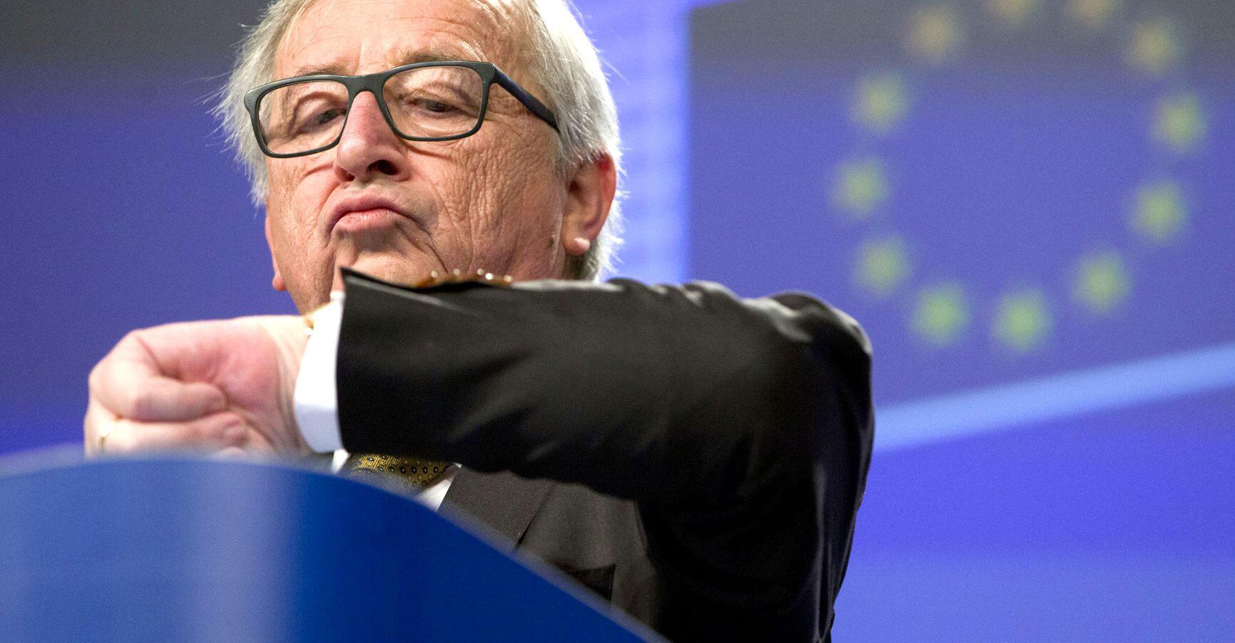 Bild zu Zeitumstellung - Jean-Claude Juncker