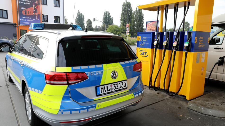 Hohe Spritpreise - Mehrkosten bei der Polizei