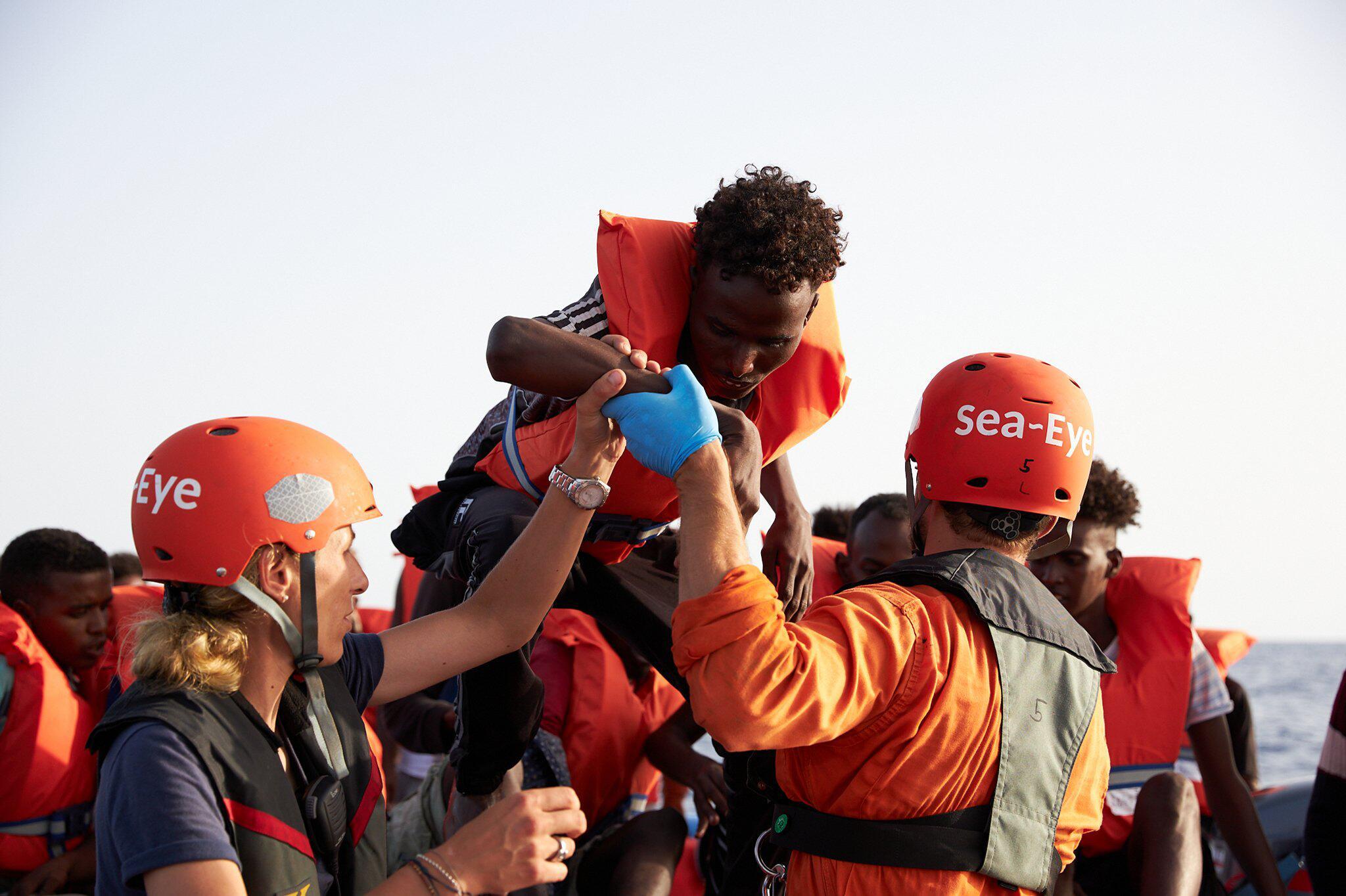 Bild zu Flüchtlingsbündnis «Seebrücke»