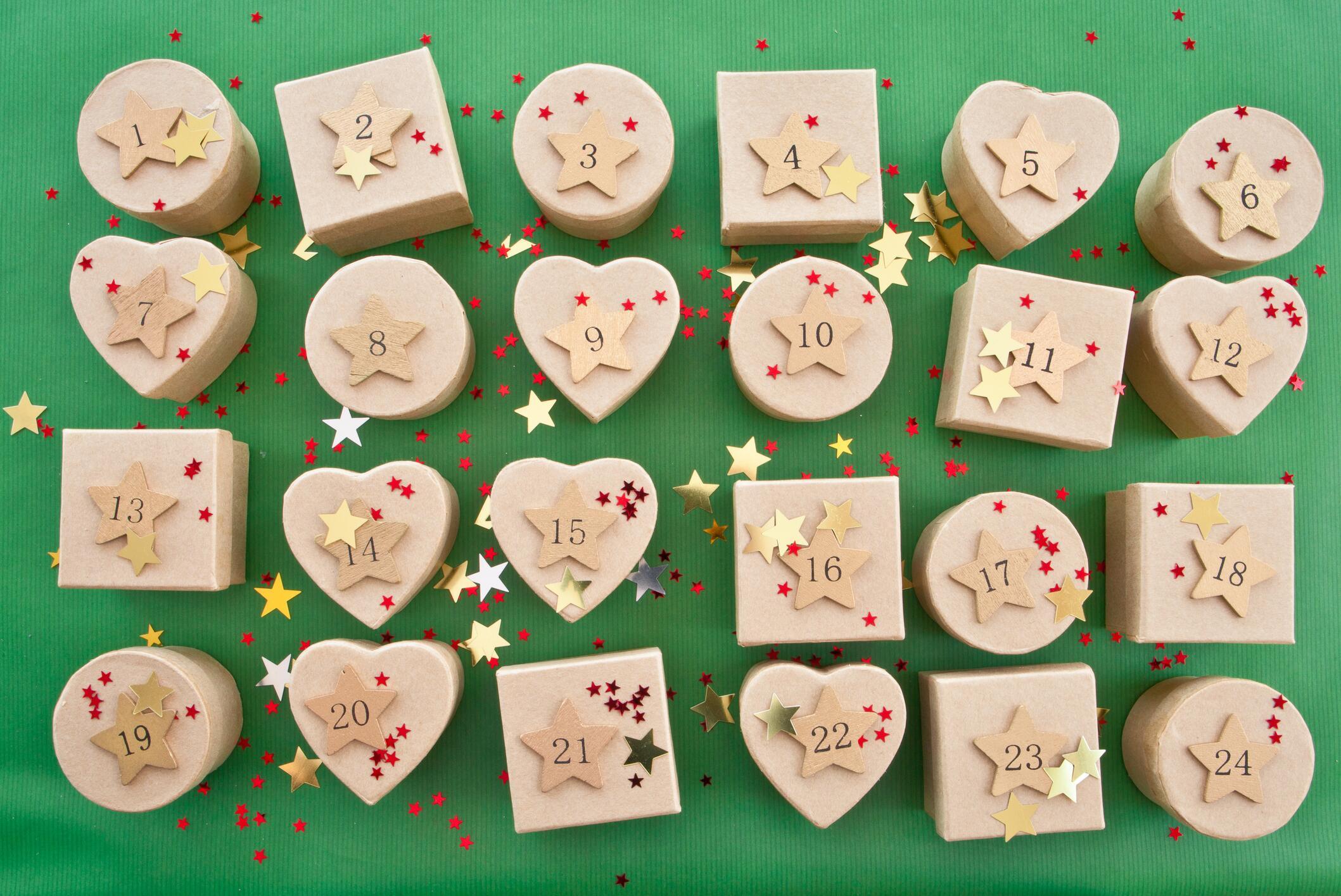 Bild zu Adventskalender, Männer, Weihnachten, DIY, Geschenke, Frauen