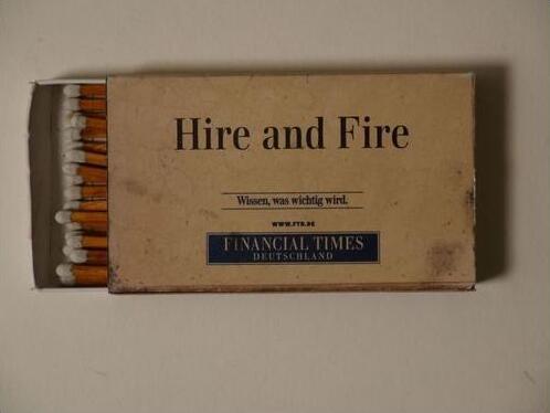 """Bild zu """"Hire-and-Fire"""""""