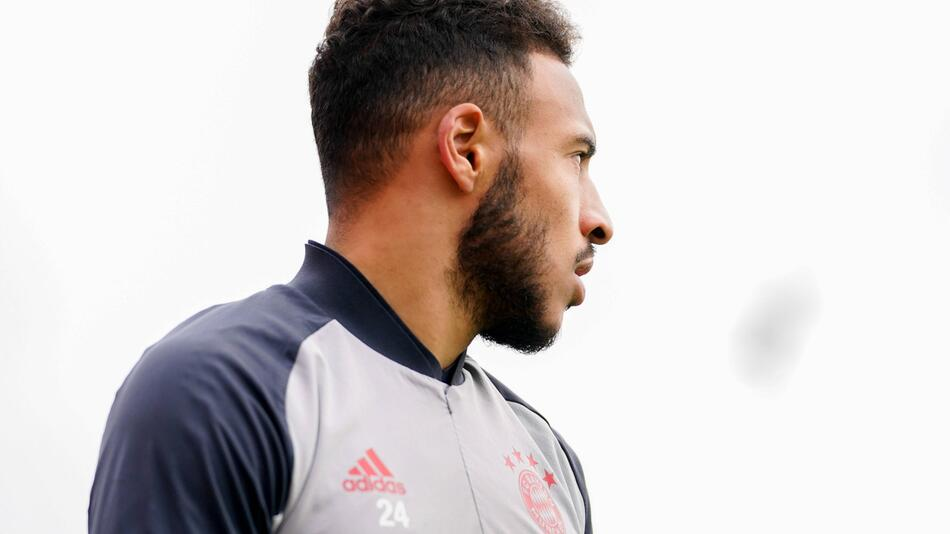 Tolisso bei Training des FC Bayern Muenchen.