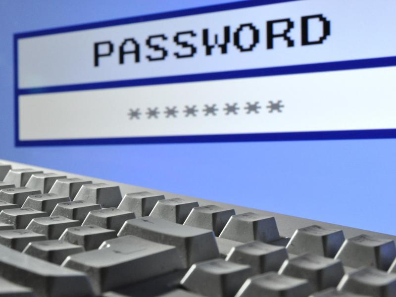 Bild zu Passwort-Feld