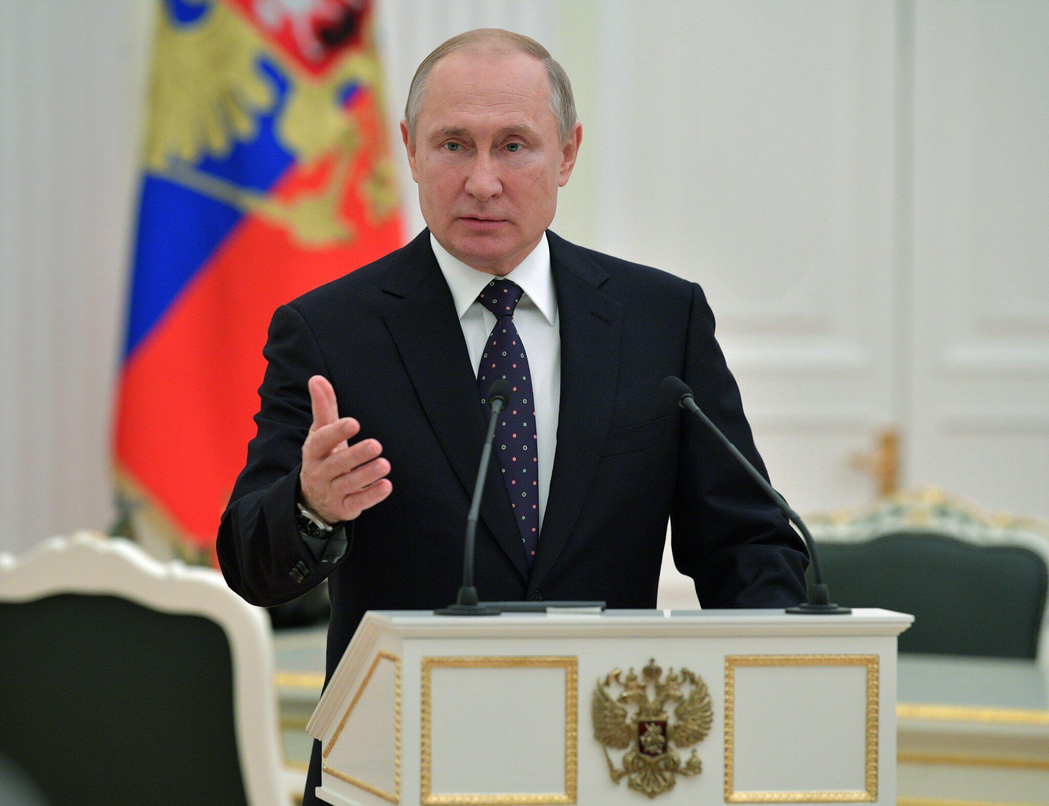 Bild zu Russischer Präsident Putin im Kreml