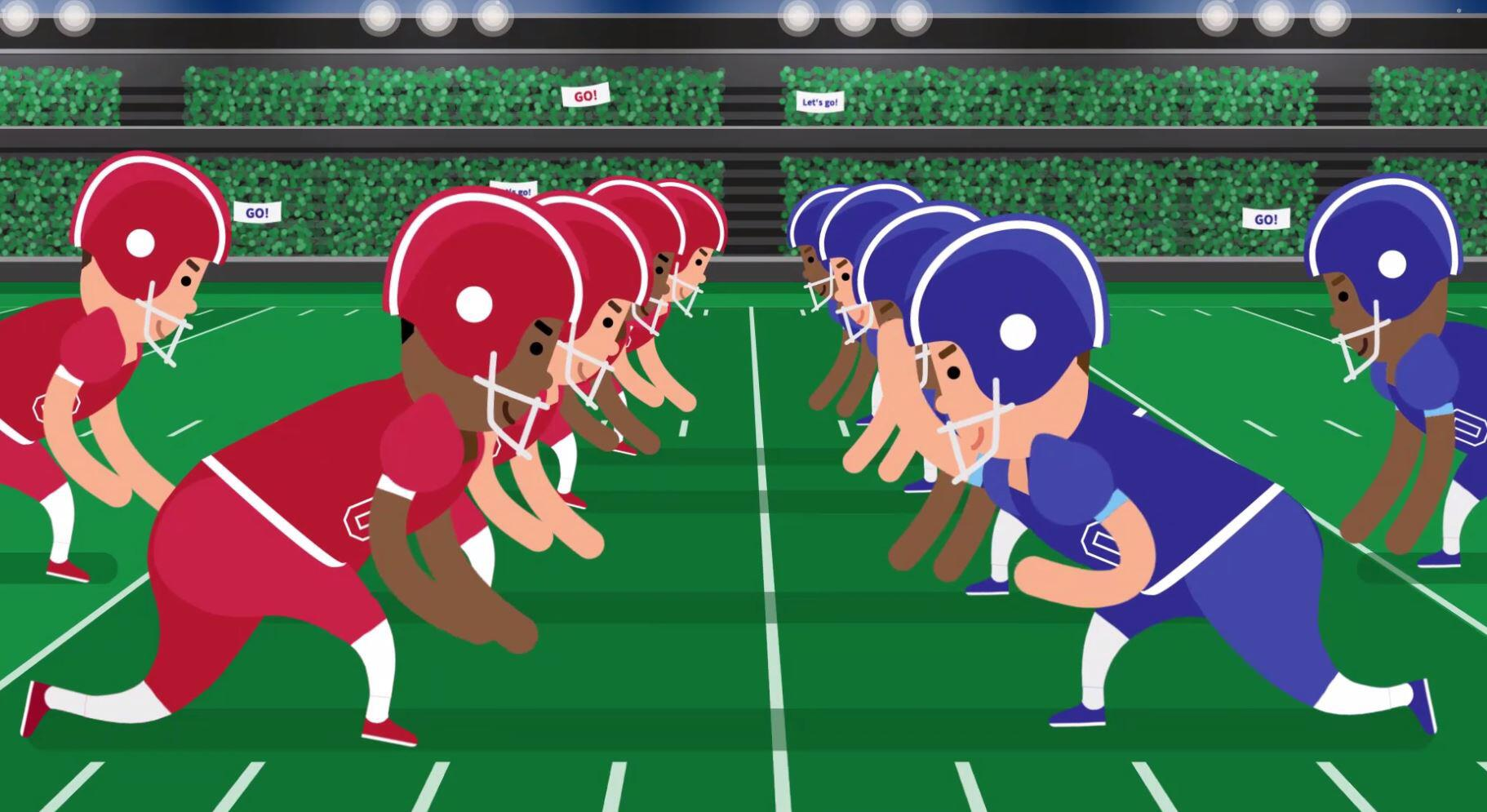 Bild zu Footballregeln