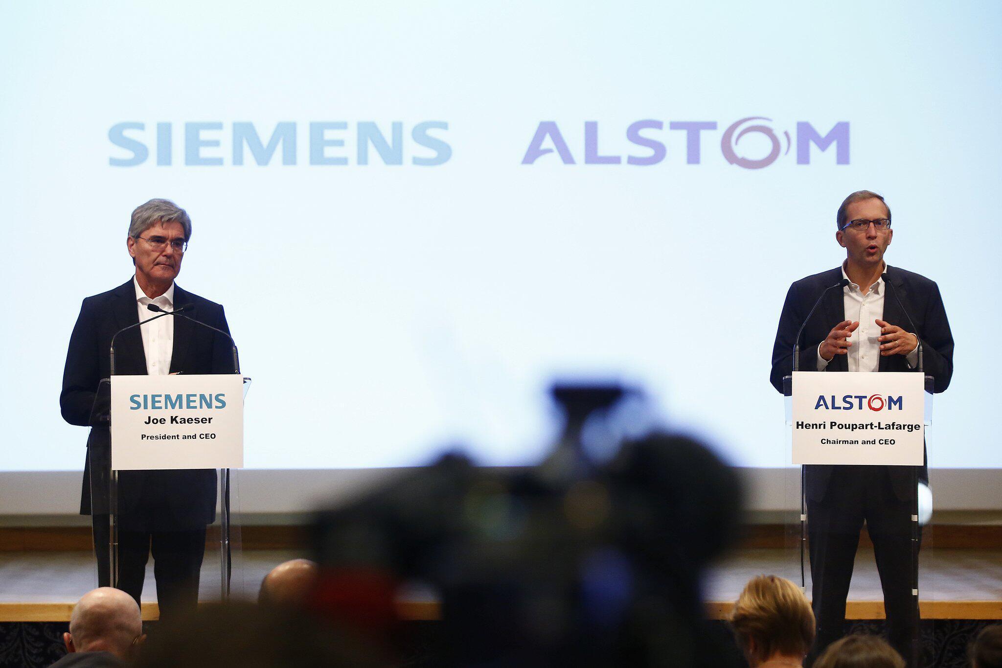 Bild zu Siemens und Alstom