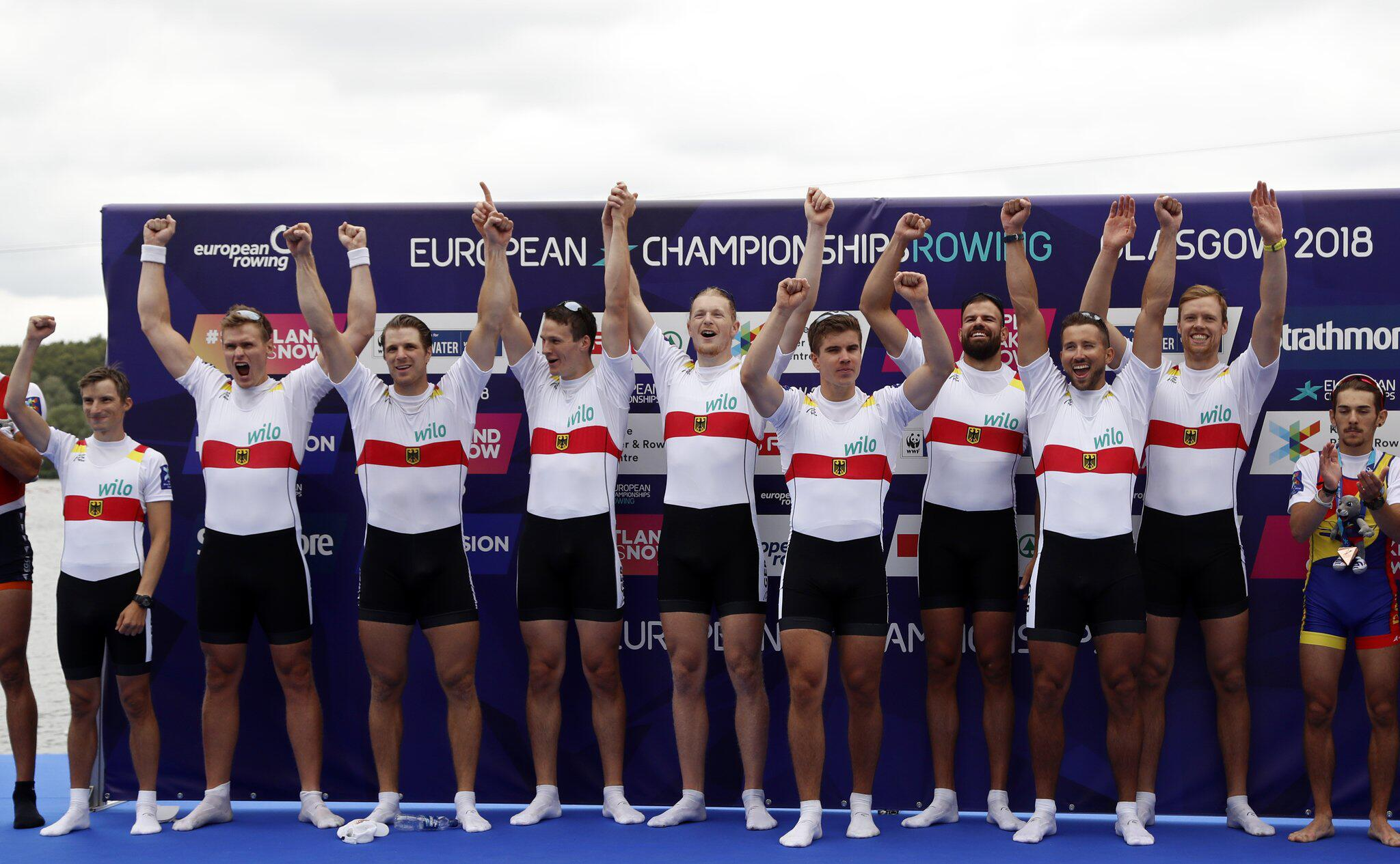 Bild zu European Championships 2018 - Rudern