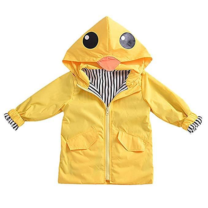 Diese Regenjacke dürften selbst regenscheue Kinder gerne anziehen.