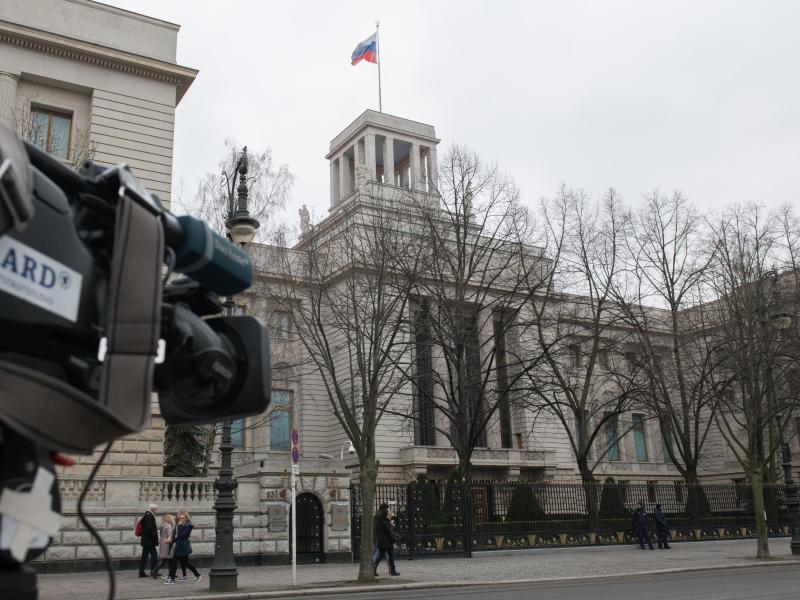 Bild zu Russische Botschaft in Berlin