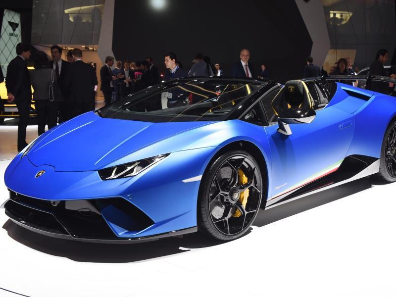 Bild zu Lamborghini Huracan Spyder