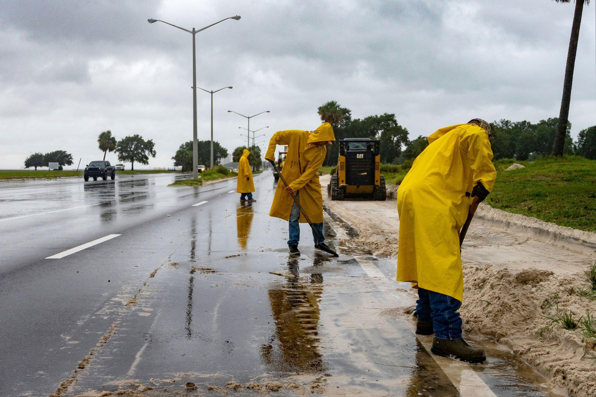 Bild zu Hurrikan «Sally»