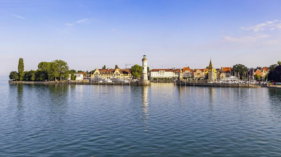 Bodensee, Lindauer Insel