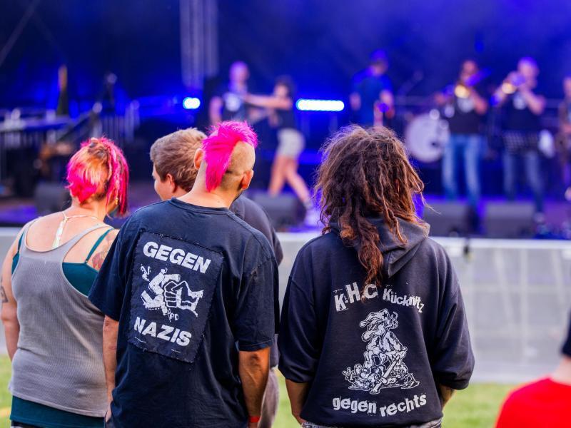 Bild zu Musikfestival «Jamel rockt den Förster»