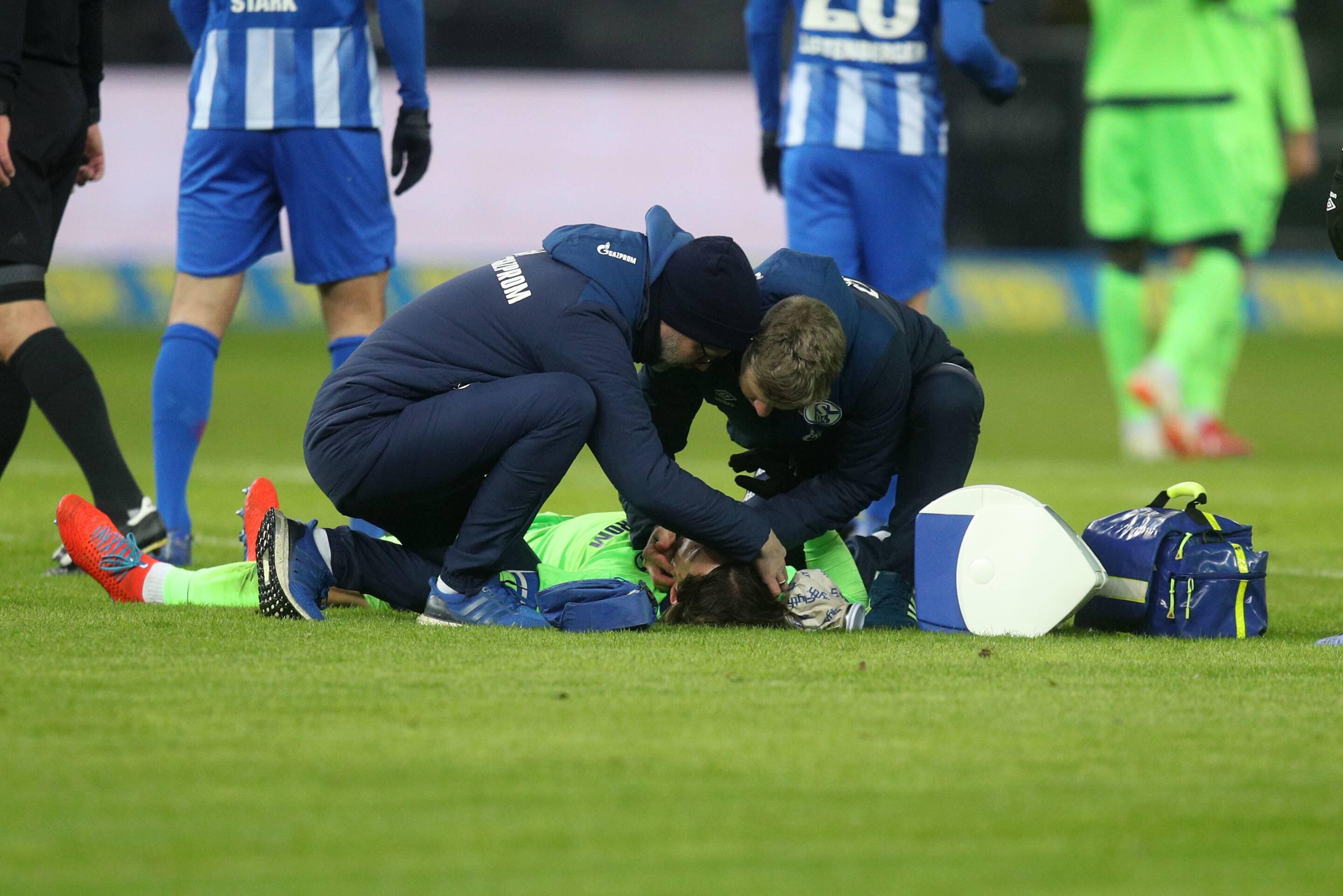 Bild zu Fußball, Bundesliga, Hertha, Schalke, S04