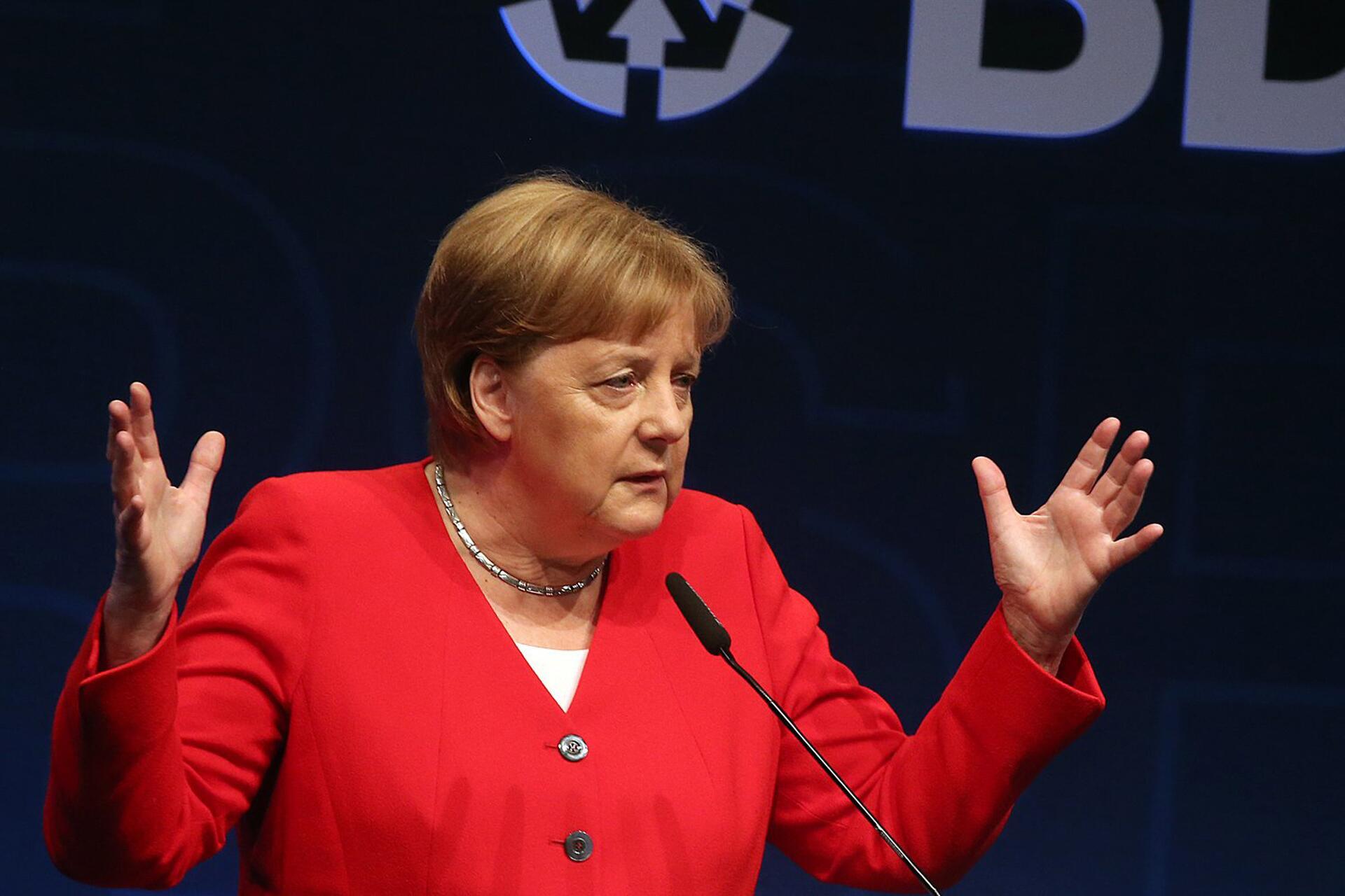 Bild zu German Industry Day - Chancellor Angela Merkel