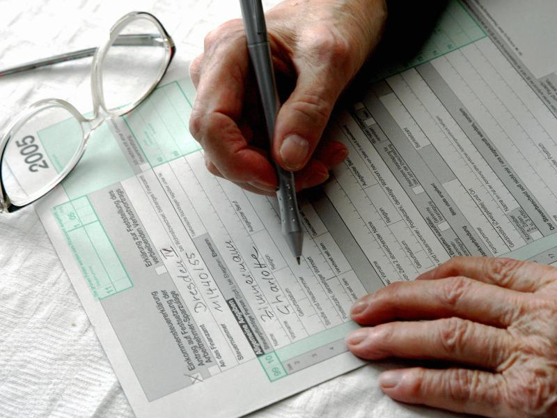 Bild zu Steuererklärung von Rentner