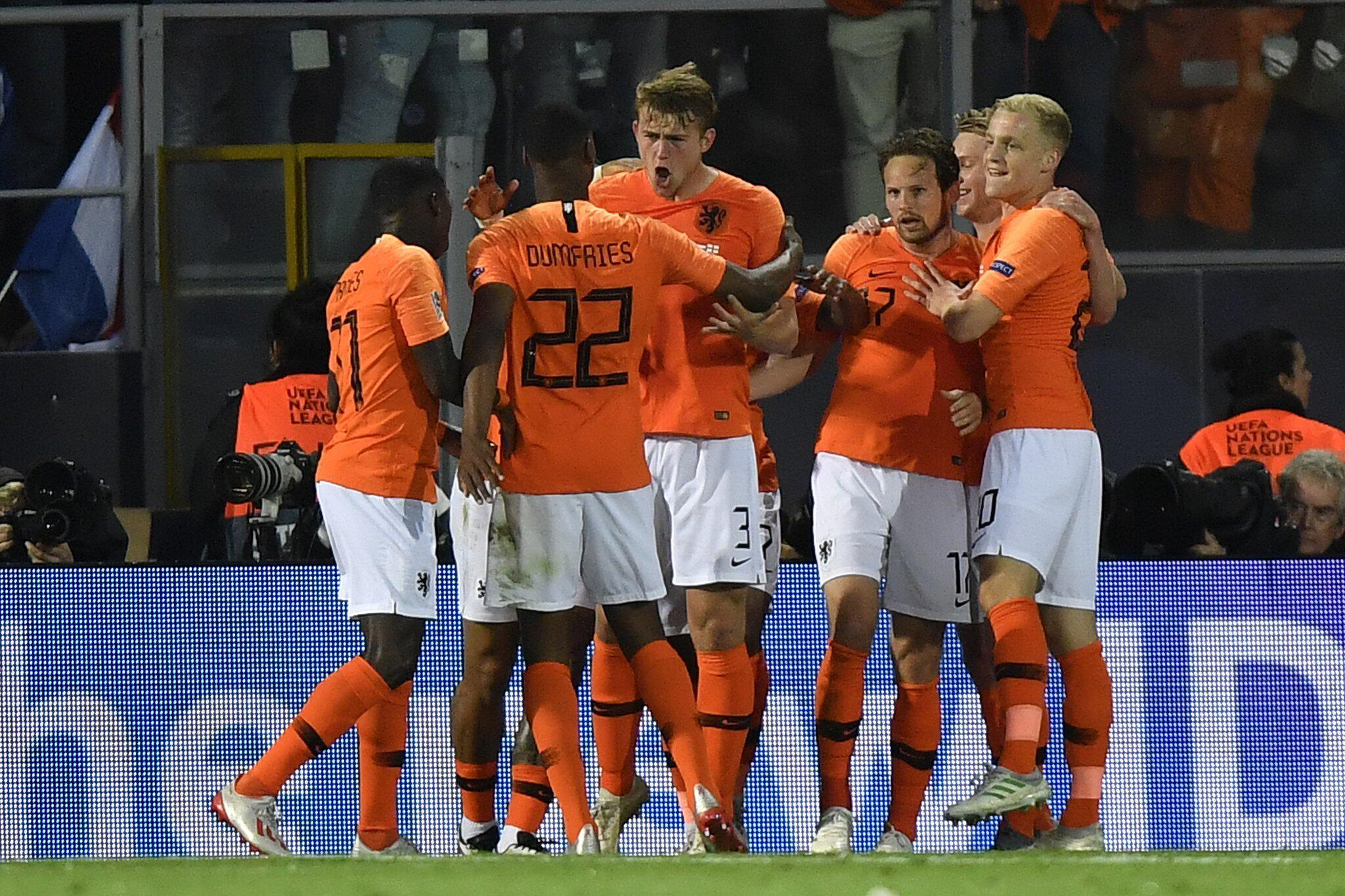 Nations League Niederlande Schlagt England Finale Gegen
